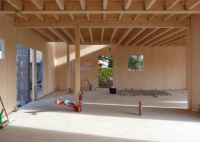 Construction d'une maison ossature bois Soucieu-en-Jarrest 69510