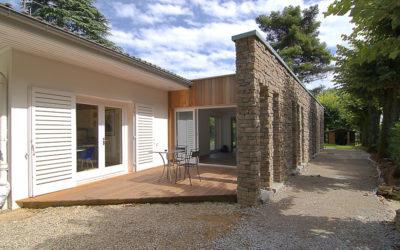 Extension à ossature bois Saint-Didier au Mont d'Or Rhône 69370