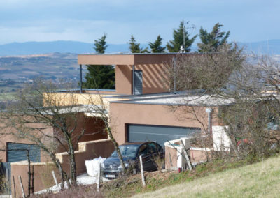 maison ossature bois à Limonest 69 rhône