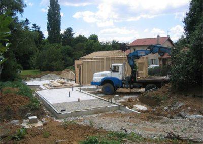 Maison ossature bois à Tassin la Demi-Lune Rhône 69