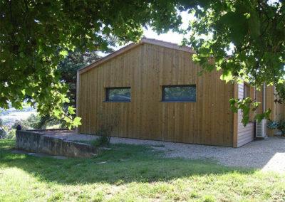 maison ossature bois à Lozanne 69 rhône