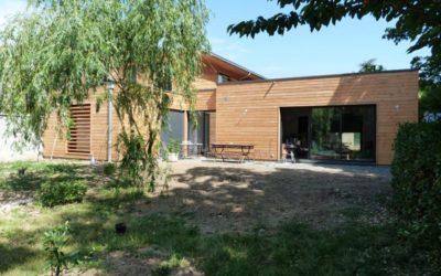 Maison ossature bois à Lyon, Rhône 69005