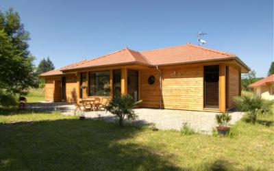 Maison à ossature bois à Tullins 38