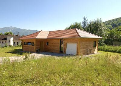 Maison ossature bois Tullins 38