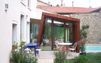 Rénovation et création d'une véranda à Saint-Didier au Mont d'Or Rhône 69370