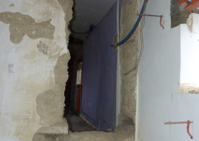 Rénovation maison pisé Ste-Foy-Les-Lyon 69110